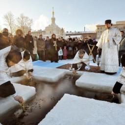 Крещенские купания в Санкт-Петербурге 2017
