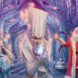 Новогоднее семейное шоу онлайн «Пять чудес Деда Мороза»