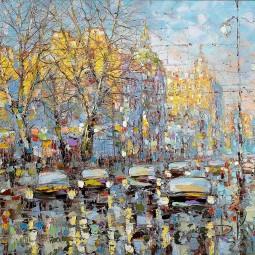 Выставка живописи «Экспрессия цвета»