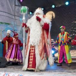 Парк ледовых скульптур на Московской площади 2018