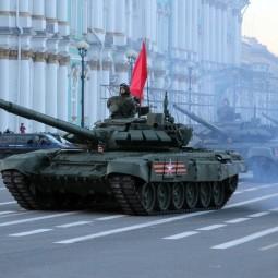 Подготовка к проведению Парада войск на Дворцовой площади 2020