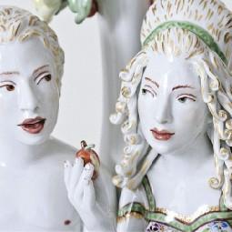 Выставка «Запретный плод. Скульптор Крис Антеманн в Мейсене»