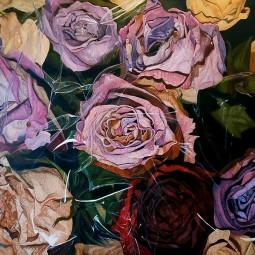 Выставка  «Розовый закат»