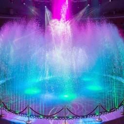 Шоу «Цирк воды, огня и света»