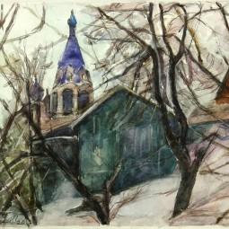 Выставка «Бумажный дом Игоря Чурилова»
