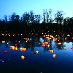 Фестиваль водных фонариков 2019
