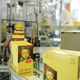 Экскурсия на «Кондитерскую фабрику им. К. Самойловой»