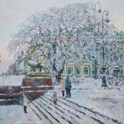 Выставка городского пейзажа Павла Еськова