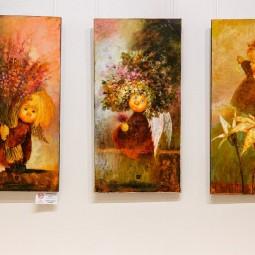 Выставка «Ангелы и волшебный лес»