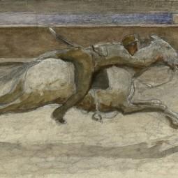 Выставка «Типы и сцены: Петроград в рисунках А. И. Вахрамеева»