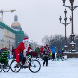 Велопробег Дедов Морозов 2019