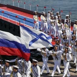 Выставка «Военно-морской флот России. В небе, на воде и под водой»
