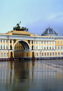 Здание Главного штаба и Триумфальная арка Главного штаба
