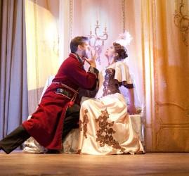 Оперетта «Летучая мышь» на сцене дворца княгини Зинаиды Юсуповой
