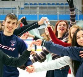 Массовые катания на коньках