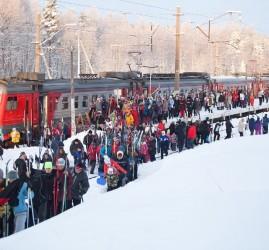 Массовые лыжные старты «Лыжные стрелы-2019»