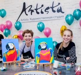 Мастер-класс «Картина за три часа» в Санкт-Петербурге