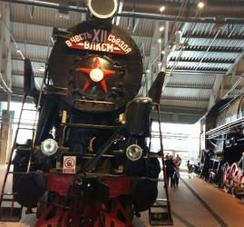 Открытие музея железных дорог в Санкт-Петербурге