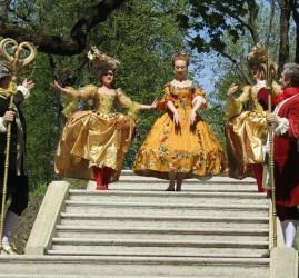 Праздник открытия летнего паркового сезона в музее-заповеднике Гатчина