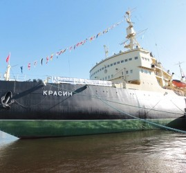 Экскурсии на борт ледокола «Красин» лето 2020