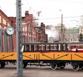 Выставка «Трамвайные парки в годы Великой Отечественной войны»