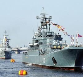 Программа мероприятий в День ВМФ-2017 в Санкт-Петербурге  и районах