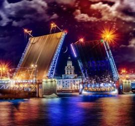 График развода мостов в Санкт-Петербурге 2020