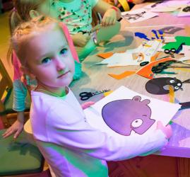Выставка «Остров детства» в Angry Birds Activity Park