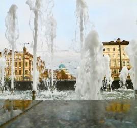 Открытие сезона фонтанов в Санкт-Петербурге 2021