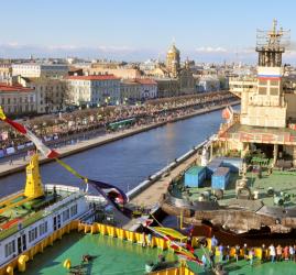 Фестиваль ледоколов в Санкт-Петербурге 2019