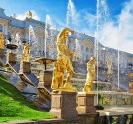 Открытие сезона фонтанов Петергофа 2021