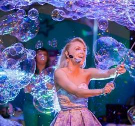 Фестиваль мыльных пузырей в парке «Сказок»