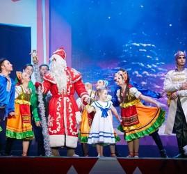 """Новогоднее шоу на воде для всей семьи """"Миссия Одиссей"""""""