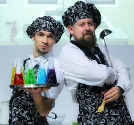 Научное шоу для детей и взрослых «Гастрономический дивертисмент: Первое, второе и компот!»