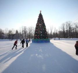 Открытие большого бесплатного катка в парке С. Кирова 2921