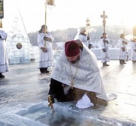 Праздник Крещения Господня в Санкт-Петербурге 2020