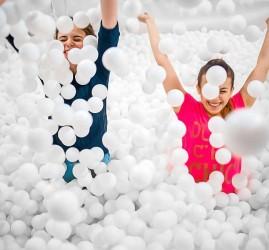 Новое развлечение Сухой бассейн шариков