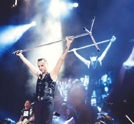 Концерт группы «Depeche Mode» в Санкт-Петербурге
