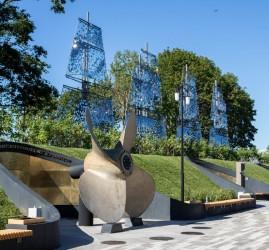 Открытие Музейно-исторического парка «Остров фортов»