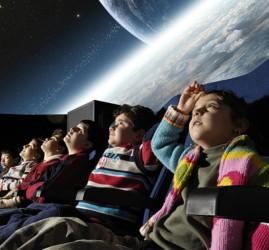 Льготные сеансы для детей в Планетарии