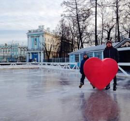 «Царскосельский каток» на Треугольной площади 2016