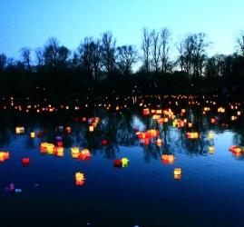 Фестиваль водных фонариков в Юсуповском саду 2020