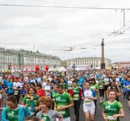 Международный марафон «Белые ночи» 2018