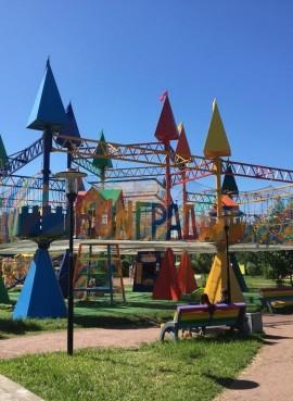 Детский веревочный парк FunГрад
