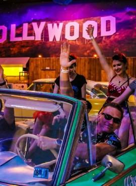 Интерактивное пространство— музей Авто-легенды Голливуда «Route 66»