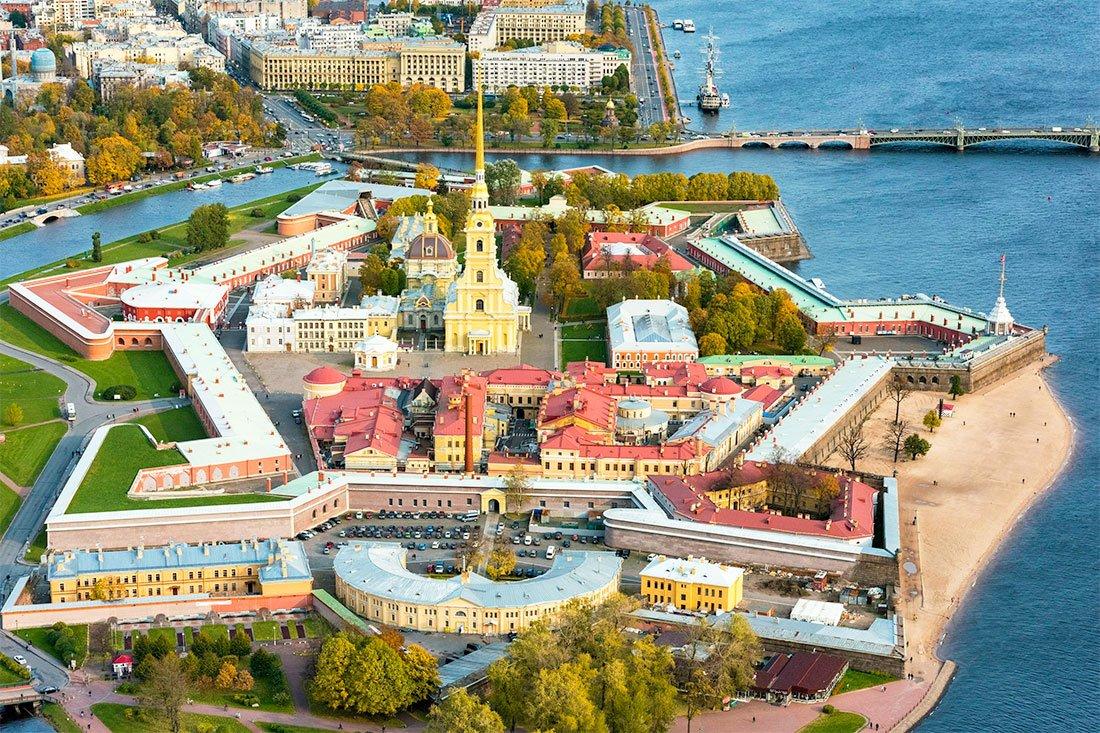 Пешеходная экскурсия «Петропавловка— сердце Петербурга