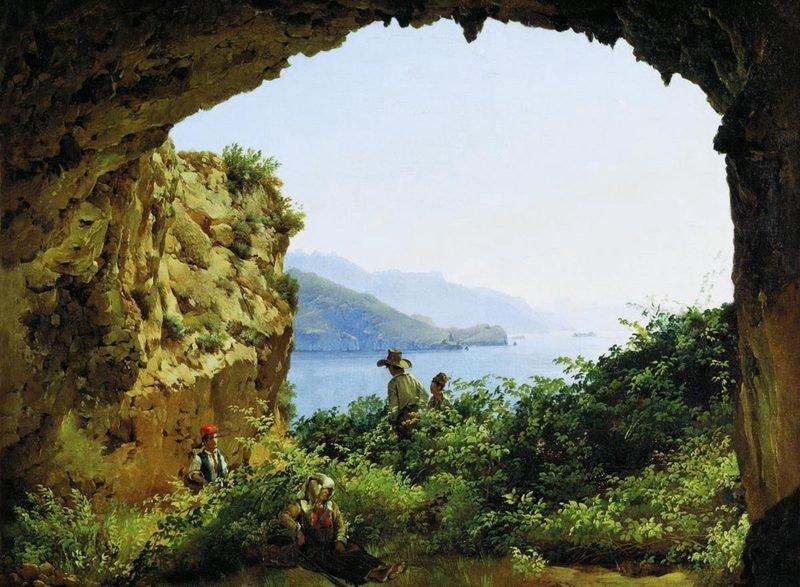 Выставка «Сильвестр Щедрин ишкола Позиллипо»
