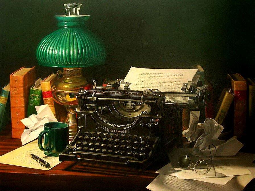 Выставка «Под звуки пишущей машинки»