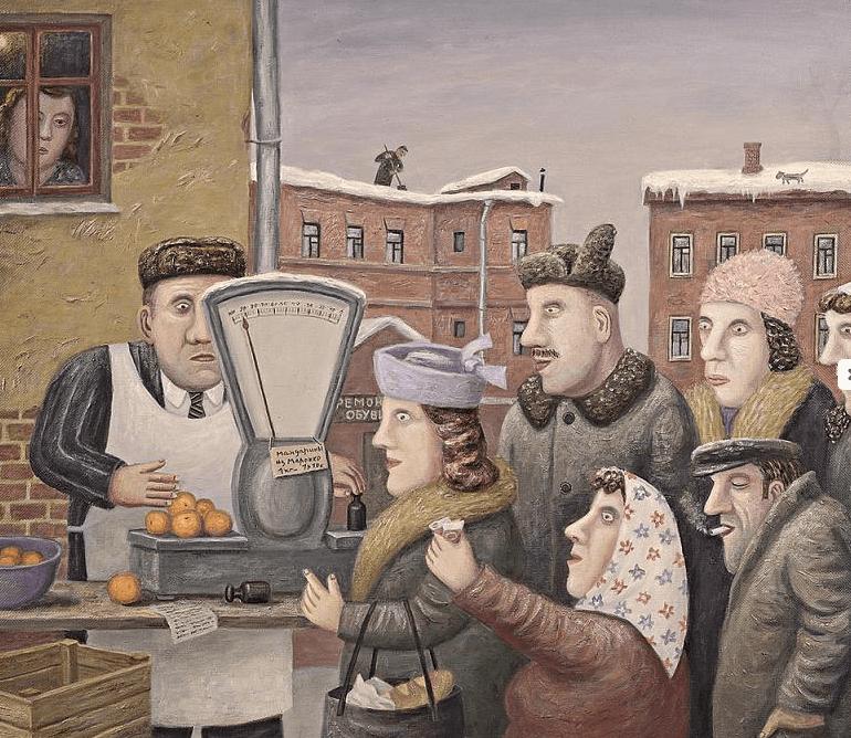 Персональная выставка В. Любарова