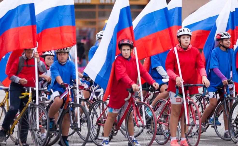 Велопробег «Триколор, как символ России!» 2017